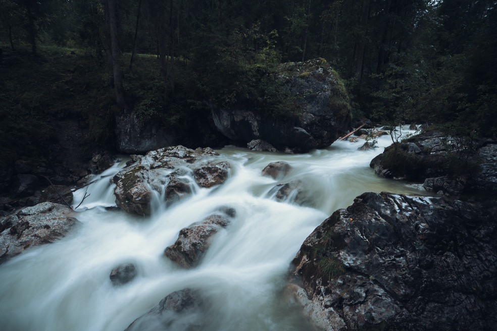 WILD RIVER  IMAGE 3 OF 5  Hintersee bei Ramsau 2020