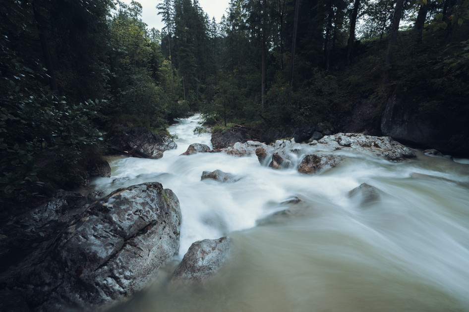 WILD RIVER  IMAGE 4 OF 5  Hintersee bei Ramsau 2020