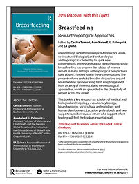 Breastfeeding New Anthropological Approaches Flyer