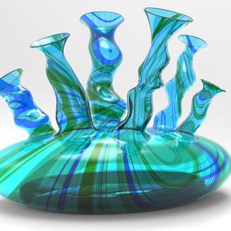 Sea Stacks Vase