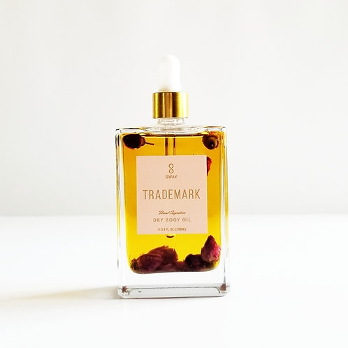 Sway - TRADEMARK  DRY BODY OIL  Floral Signature