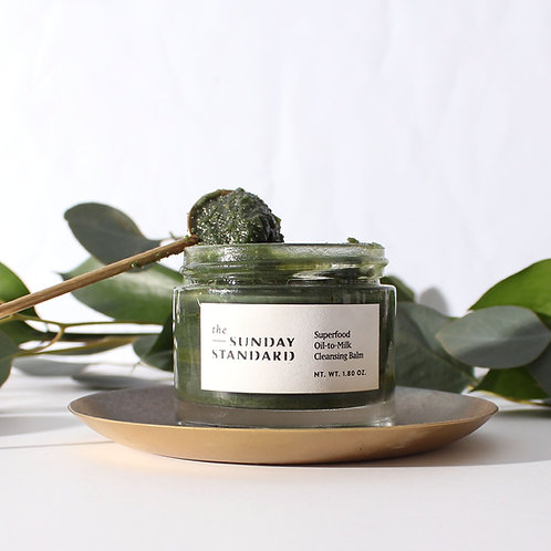 The Sunday Standard - Superfood Oil-to-Milk Cleansing Balm
