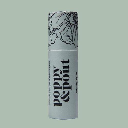 Poppy & Pout - SWEET MINT Lip Balm