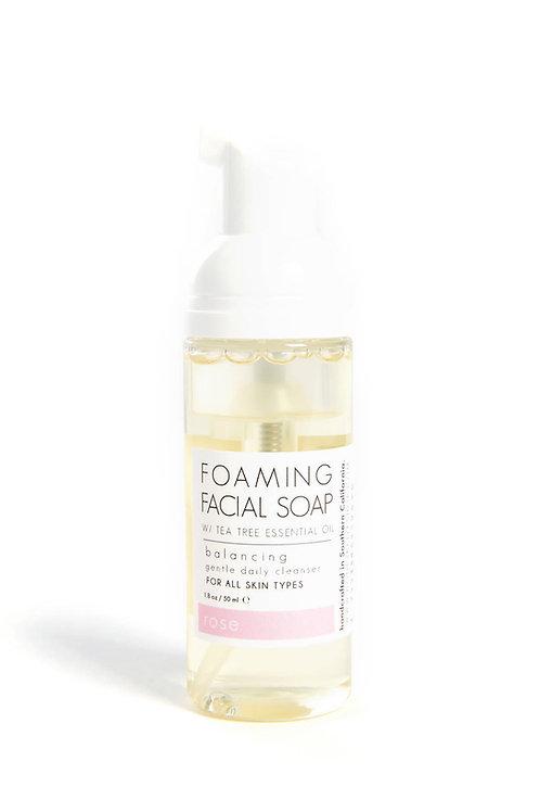 Honey Belle - Tea Tree + ROSE Foaming Facial Soap MINI