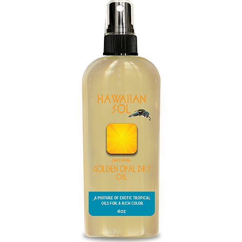 Hawaiian Sol - Golden Opal Dry Oil, rich golden tan