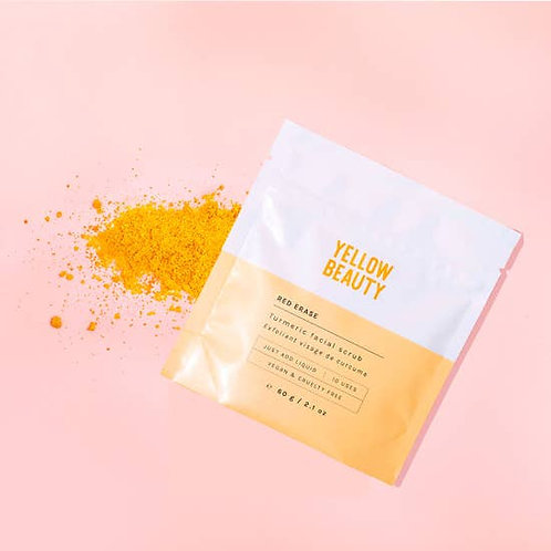 Yellow Beauty - RED ERASE Tumeric Facial Scrub