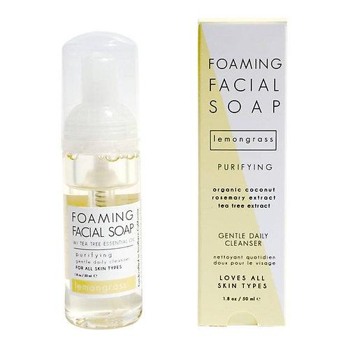 Honey Belle - Tea Tree + LEMONGRASS Foaming Facial Soap MINI
