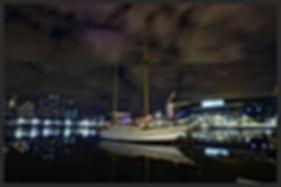 Etihad Stadium by night