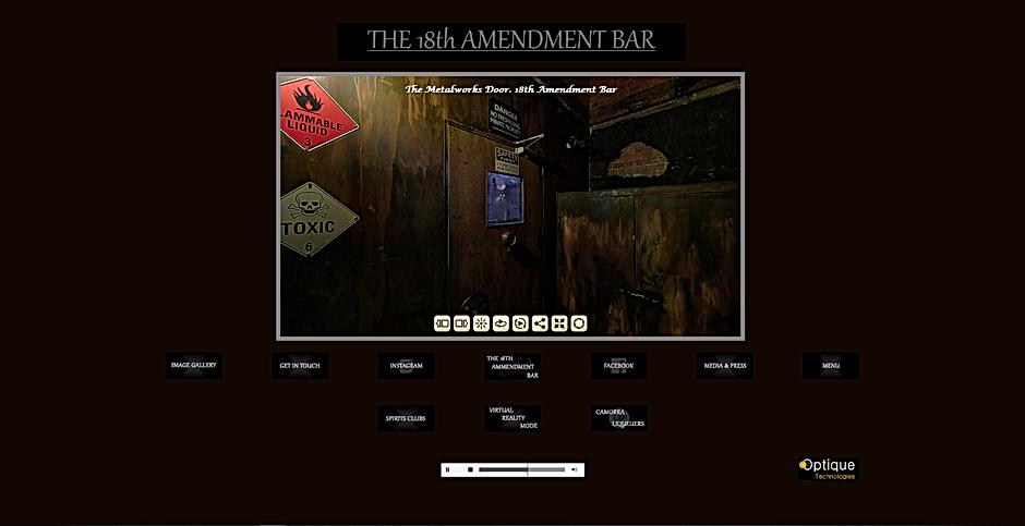 18th Amendment Bar