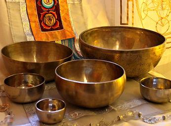 Singing bowls set