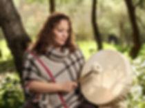 Susan drumming