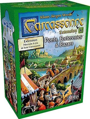 Carcassonne Ext : Ponts et forteresse