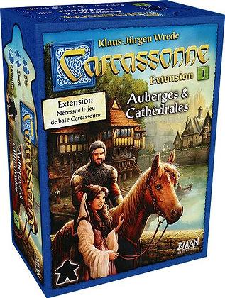 Carcassonne Ext : Auberges et Cathédrales