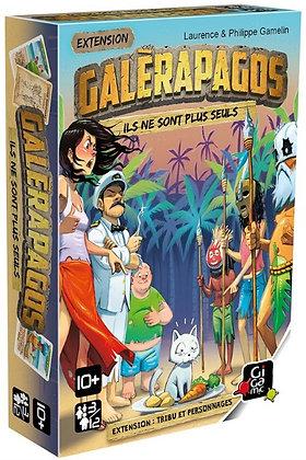 Galerapagos Ext : Tribus et Personnages