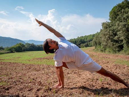 De opname van de yoga les is nu beschikbaar!