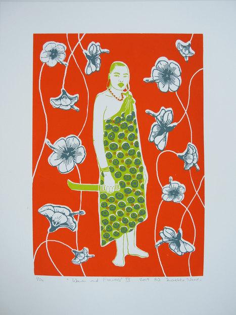 Women & Flowers III