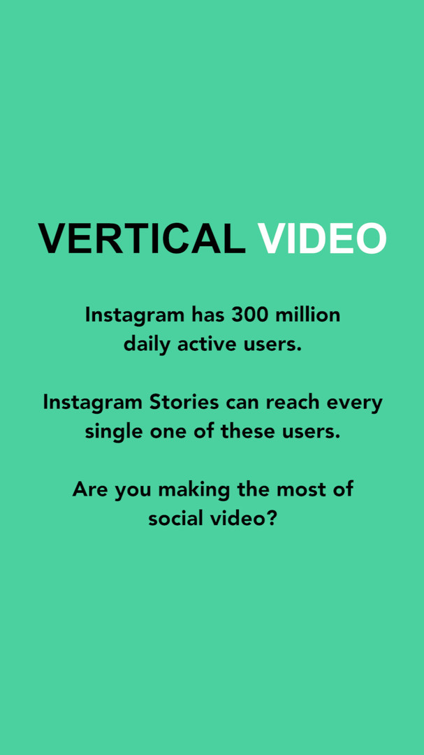 Vertical Video Instagram