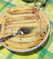 Crespelle in Brodo - Pancakes in Broth