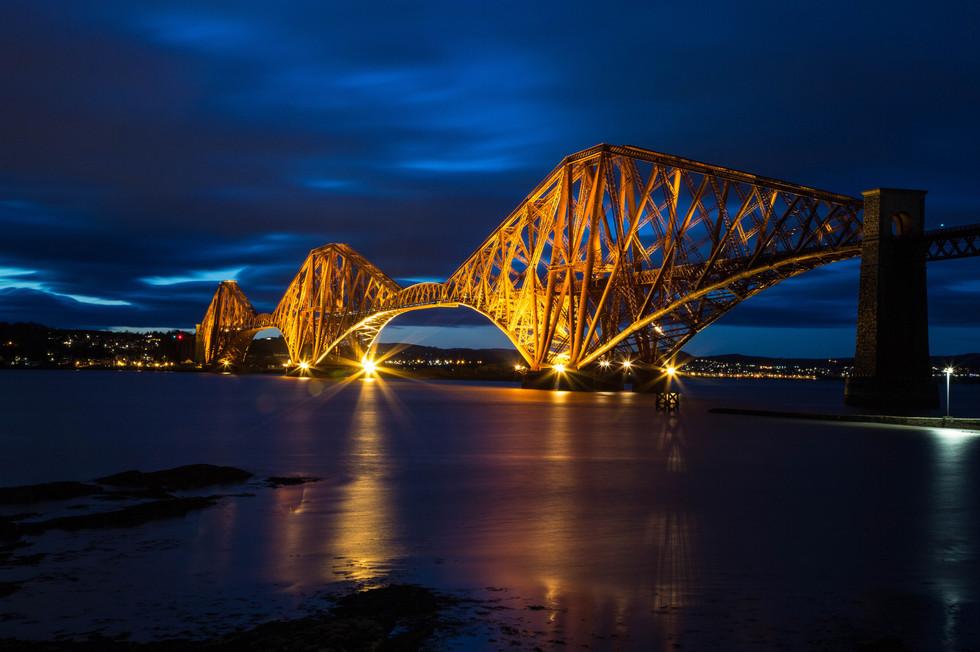 Forth Bridge Sunset