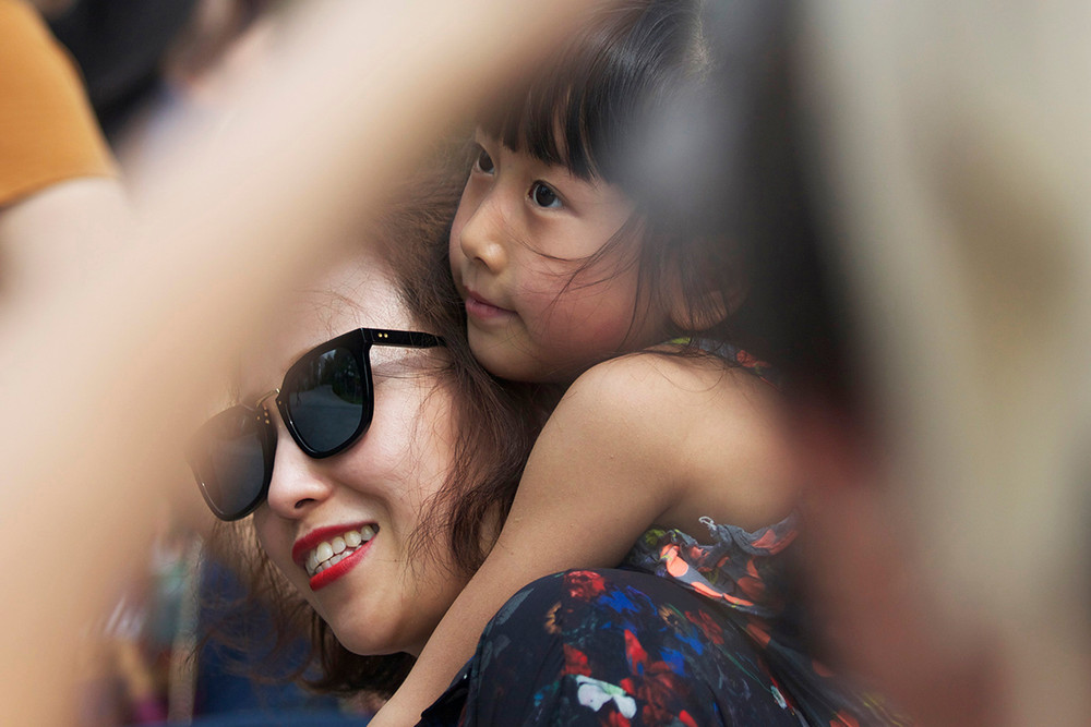 Mother & Daughter - Singapore