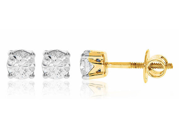 0.90 cts | Earrings | (EXCL. VAT)