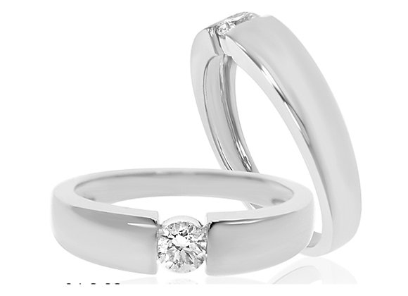 0.25 cts | White Gold Jewellery | (EXCL. VAT)