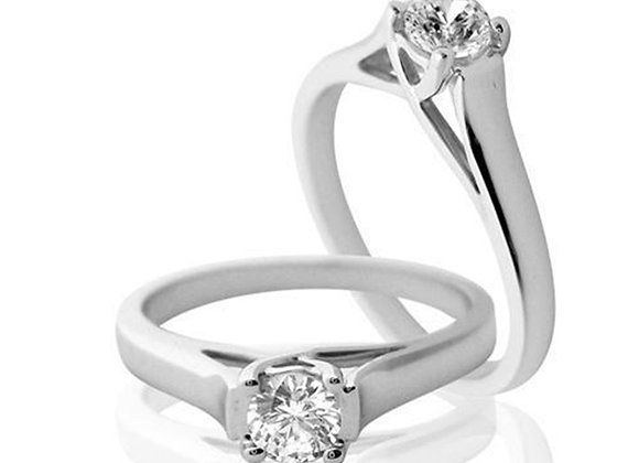 0.50 cts | White Gold Jewellery | (EXCL. VAT)