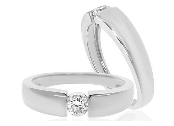 0.15 cts   White Gold Jewellery   (EXCL. VAT)