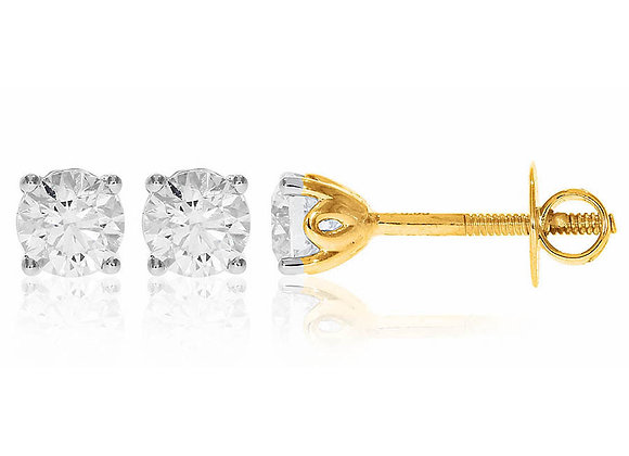 0.70 cts | Earrings | (EXCL. VAT)
