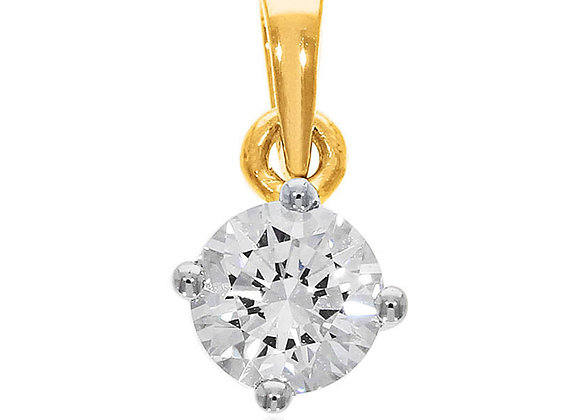 0.20 cts | Pendant | (EXCL. VAT) | NOTE : Does not include CHAIN