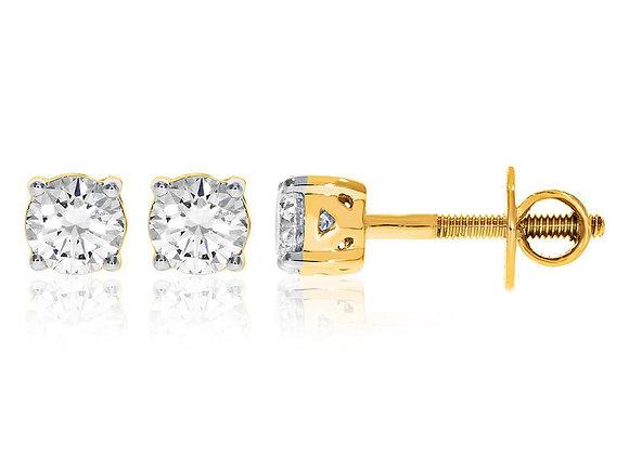 0.90 cts | Simple Elegant Jewellery | (EXCL. VAT)
