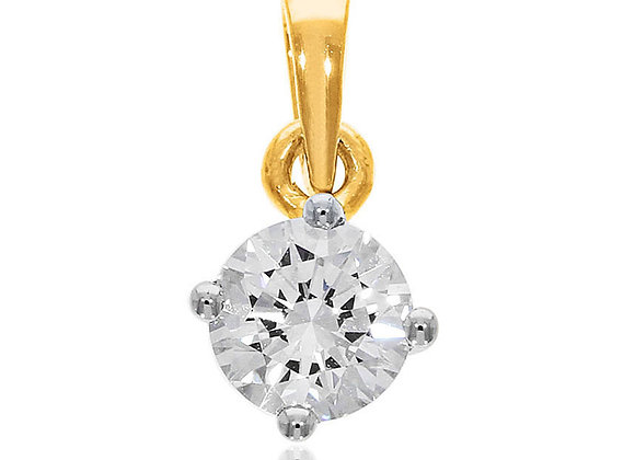 0.50 cts | Pendant | (EXCL. VAT) | NOTE : Does not include CHAIN