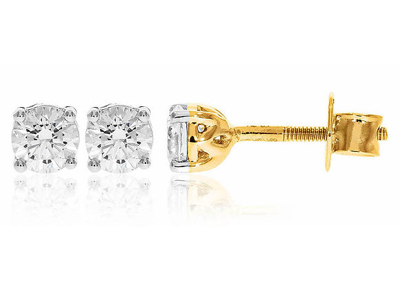 1.00 cts | Earrings | (EXCL. VAT)