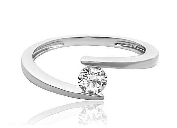 0.30 cts | White Gold Jewellery | (EXCL. VAT)