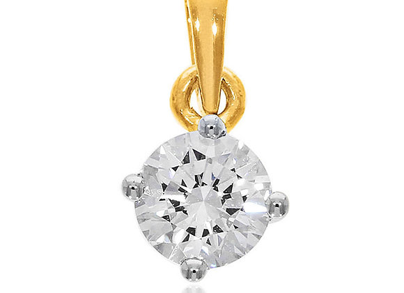 0.30 cts | Pendant | (EXCL. VAT) | NOTE : Does not include CHAIN