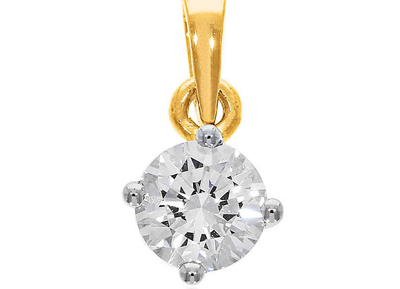 0.15 cts   Pendant   (EXCL. VAT)   NOTE : Does not include CHAIN
