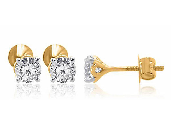 0.75 cts | Earrings | (EXCL. VAT)