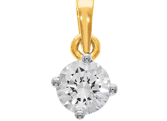 0.25 cts | Pendant | (EXCL. VAT) | NOTE : Does not include CHAIN