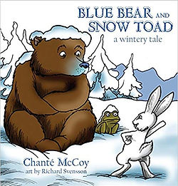 Blue Bear and Snow Toad cover