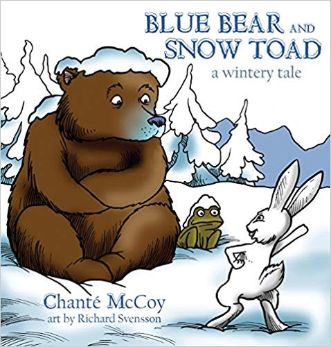 Blue Bear and Snow Toad