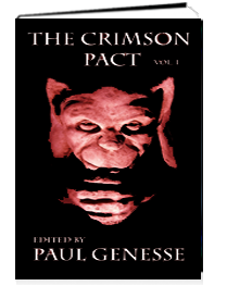 "The Crimson Pact, Vol. 1, featuring ""Inside Monastic Walls"" by Chanté McCoy"