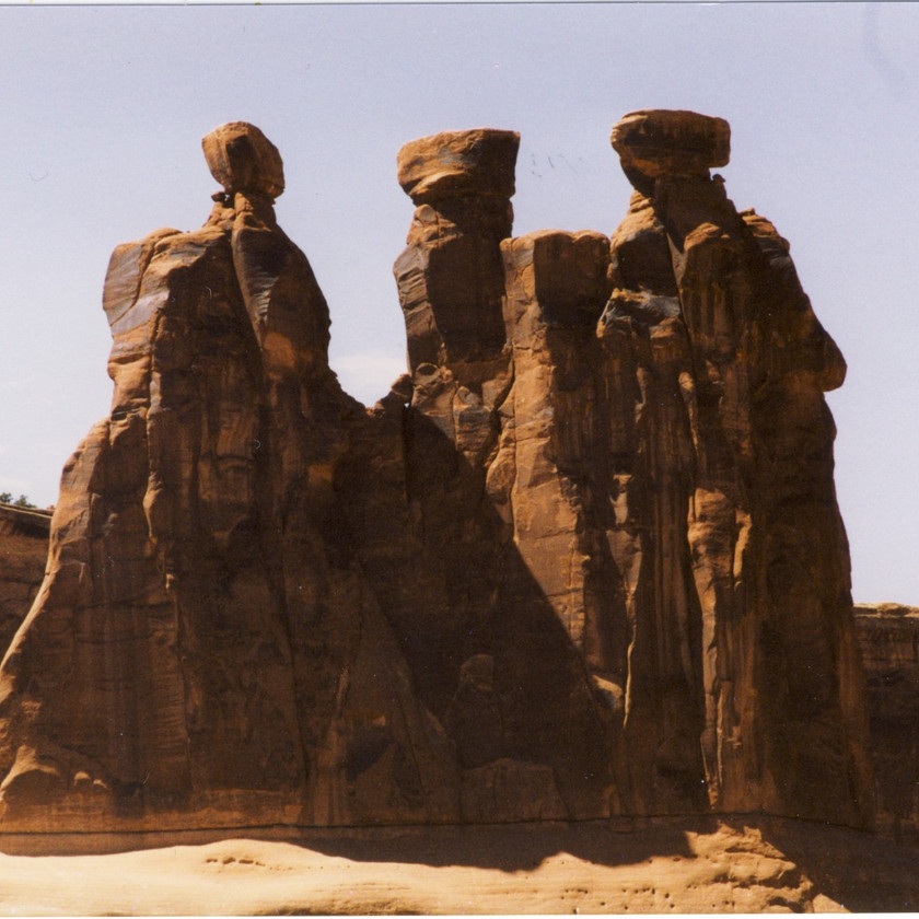 The Three Gossips at Arches National Park, UT