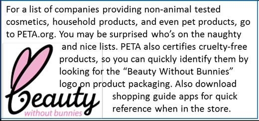 PETA cruetly-free certification