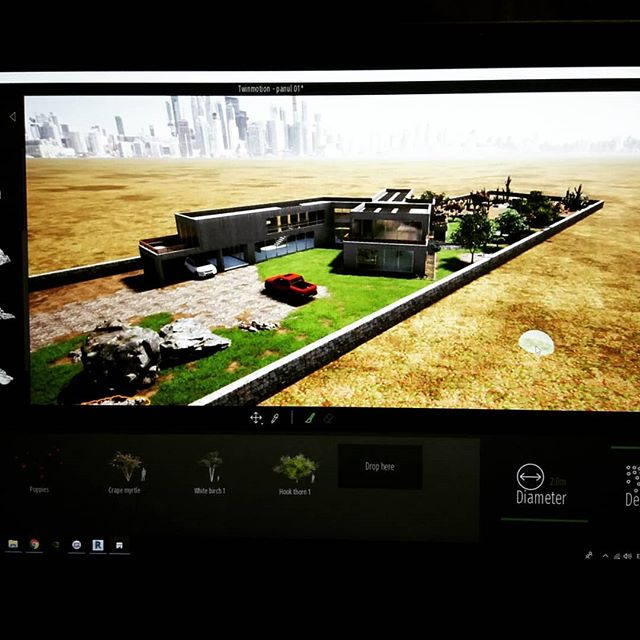 Modelado 3D Casa HecAr