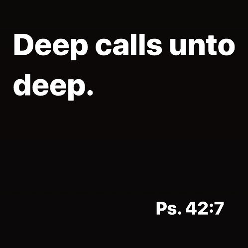 Deep Calls unto Deep - Jessica Kull