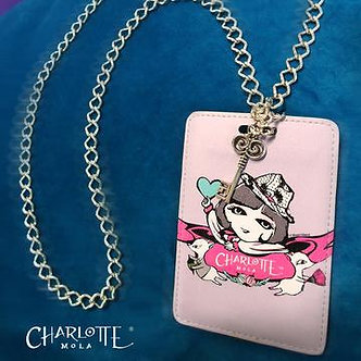 時尚頸鏈證件套 - 莎樂與夢奇 Card Holder Necklace - Charlotte and Moonkii