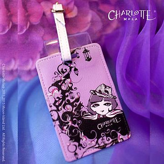 行李牌 - 月亮島(莎樂)Luggage Tag - Charlotte on the Moon