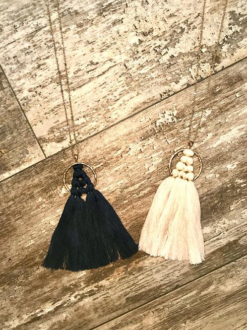 Mac Tassel Necklace