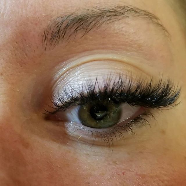 Makeup free!  Zero eyeliner, zero mascar