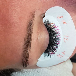 Before and after _#Novalash #lashes #las